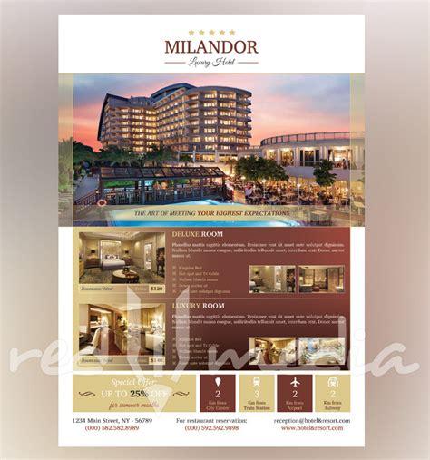 hotel flyer magazine ad redpencilmedia
