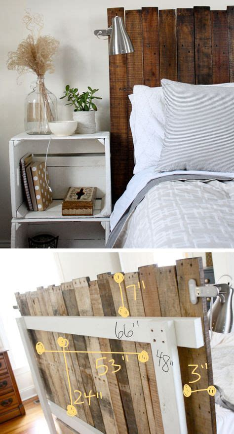 6 diy western headboard alternatives 30 rustic wood headboard diy ideas hative