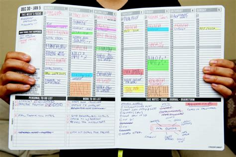 Galerry printable daily action planner