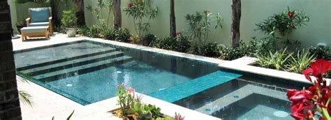 tiny pool small space small pools may be for you premier pools