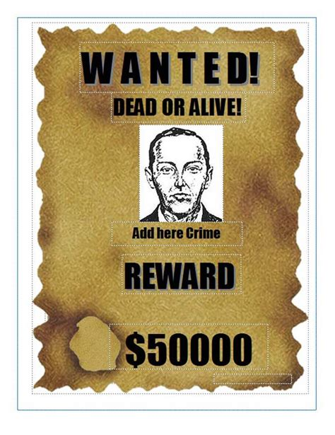 wanted poster template wanted poster template microsoft word www imgkid