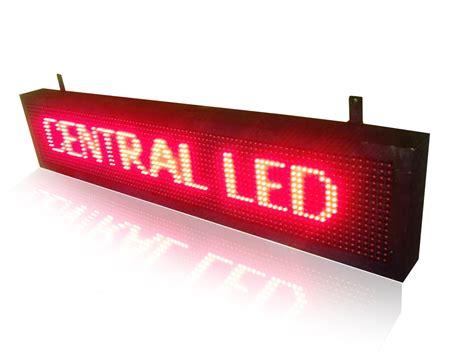 Led Videotron running text merah videotron indoneisa