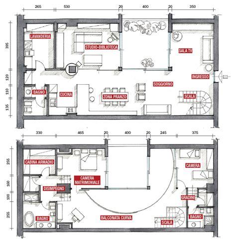 Villette A Due Piani Progetti Pianta by Una Casa Su Due Piani Da Un Ex Garage Cose Di Casa