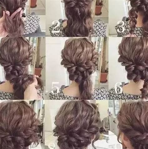 easy diy hairstyles for long curly hair 60 diy easy updos for medium hair hair motive hair motive