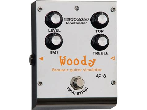 Biyang Effect Pedal Gitar Ph 8silver lc soundtrax biyang guitar pedals biyang ac8 woody