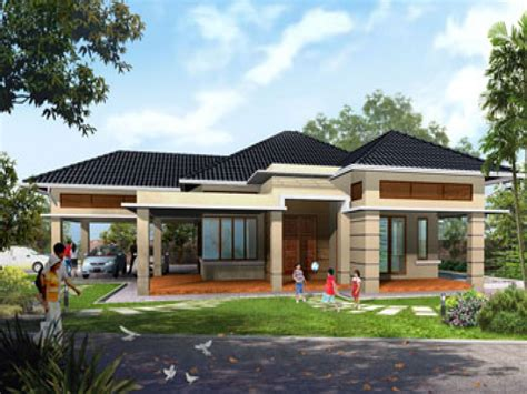 Best One Story House Plans Single Storey House Plans House Design Single Storey