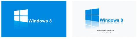 tutorial membuat logo windows dengan coreldraw tutorial cara mudah dan cepat membuat logo windows 8