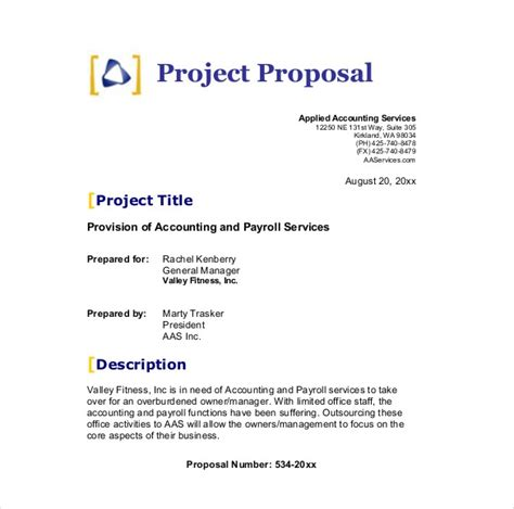 business proposal template business plan template