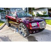 C2C Rims 2008 Chrysler 300 On 30s Custom Candy