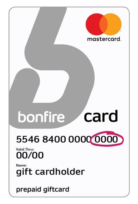 How Are Gift Cards Activated At Register - bonfire gift card activate card