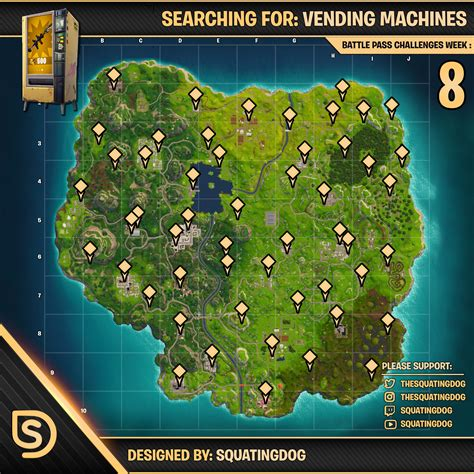 fortnite locations fortnite vending machine locations and vending machines
