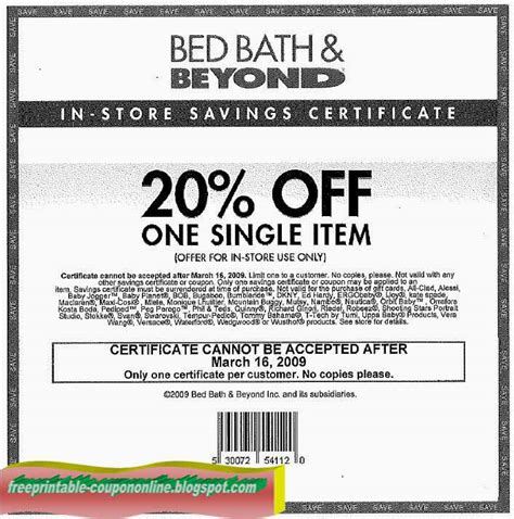 bed bath and beyond cbell printable coupons 2018 bed bath and beyond coupons