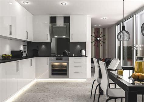 ultragloss white kitchen doors measure