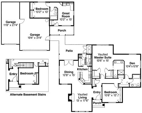 transitional floor plans transitional home with 3 bdrms 2056 sq ft floor plan