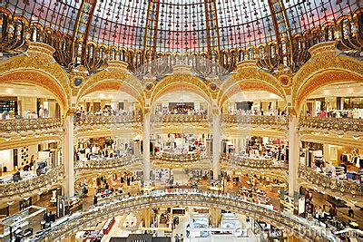Sale Time At Galeries Lafayette by Galeries Lafayette Interior In Editorial Stock Image