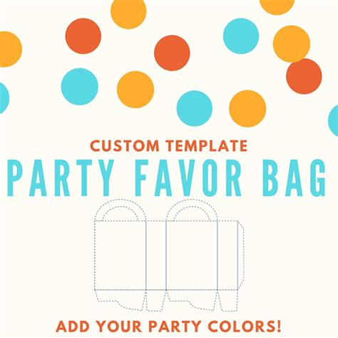 custom template favor bag custom template keeping it real