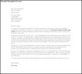 how to write a cover letter for teaching how to write a cover letter for preschool cover