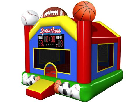 bouncing house sports arena inflatable bounce house bounce house for sale