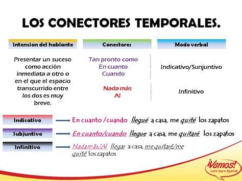 Imagenes De Conectores Temporales | conectores temporales conectores y marcadores