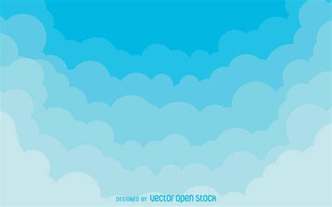 Cloud Background Check Gradient Clouds Background Vector