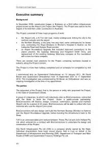 Executive Summary Of A Project Report Sample Executive Report