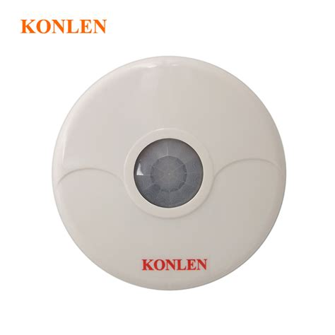 Wireless Motion Sensor 433 Mhz Dual Pir Detector Wall Mounted Alarm high quality ceiling mount dual tech infrared wireless pir motion sensor detector 360 detection