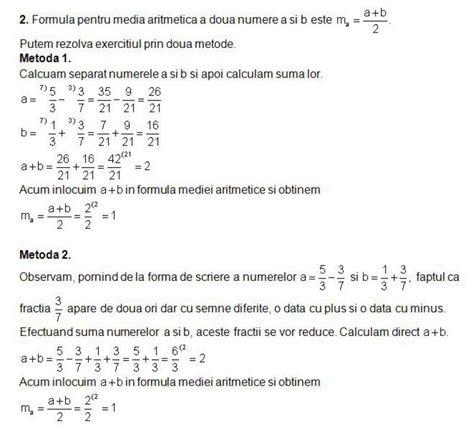 test matematica rezolvarea modelului de test la matematica pentru clasa a
