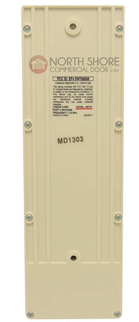 Linear Garage Door Opener Remote Keypad Linear O Matic Megacode Garage Door Opener Wireless