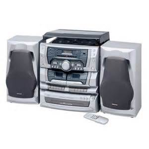 home stereos emerson ms9903tt 3 cd home audio system with