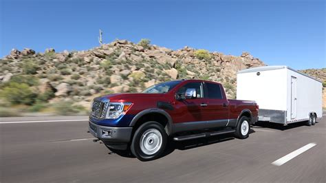 nissan towing service 2016 nissan titan xd towing 433757 photo 4 trucktrend