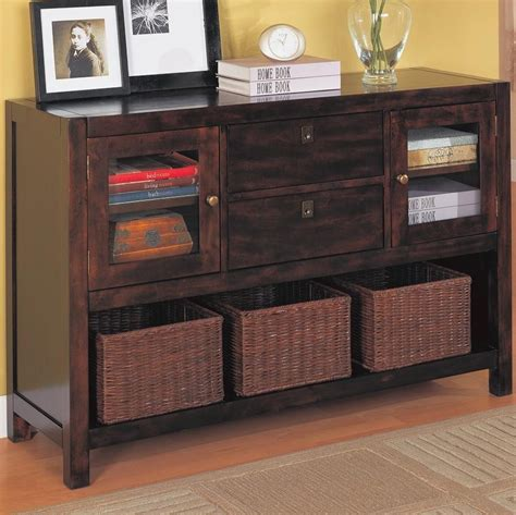 living room consoles dickson console table with basket storage accent tables