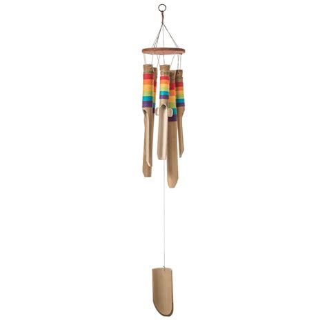 Eco Bamboo Wind Chime by Bamboo Rainbow Windchime
