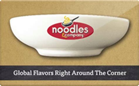 noodles company gift card discount 18 55 off - Noodles Gift Card