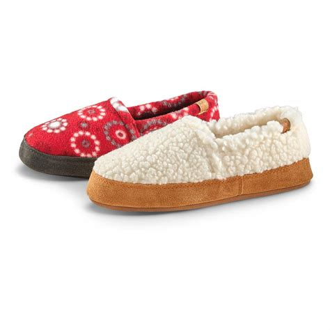 acorn shoes acorn kid s moc slippers 633907 slippers at sportsman s