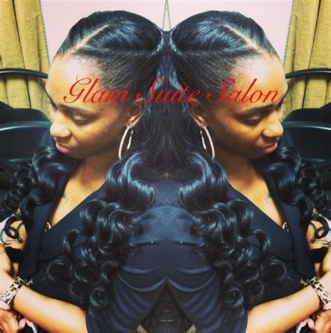 weave with minimal leave out full sew in w minimal leave out for versatility styling