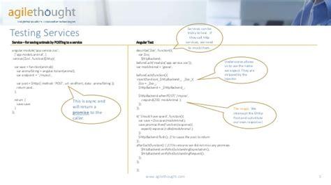 javascript pattern tester unit test patterns for mvc angularjs agilethought