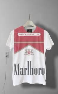 How To Make Vintage Jewelry - shirt smoke marlboro white black red cigarette t