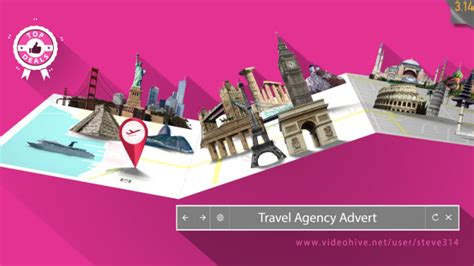After Effects Free Travel Templates | 27 cool after effects templates for travel agency design