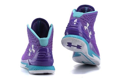 womens purple basketball shoes cheap s s armour ua stephen curry one mid