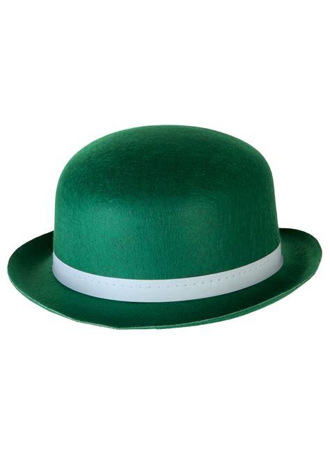green hats green derby hat