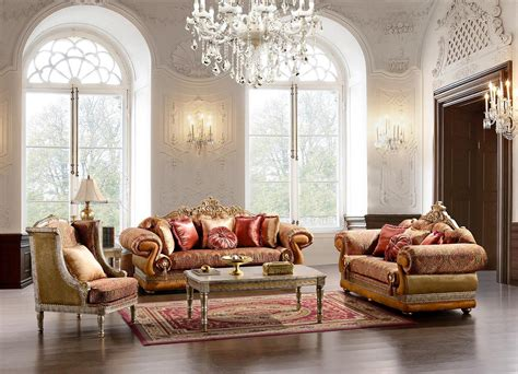 Formal Luxury Living Room Sets by Living Room