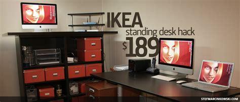 standing desk ikea hack ikea standing desk hack stef marcinkowski