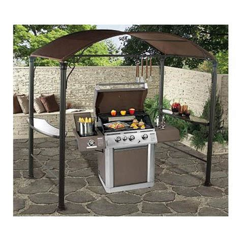 Bbq Grill Awnings by Details About Metal Gazebo Marquee Garden Patio