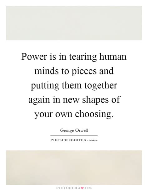 putting it together again when it s all fallen apart 7 principles for rebuilding your books power is in tearing human minds to pieces and putting them