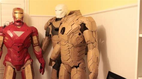 How To Make A Paper Iron Suit - fanboy fashion tag archive armor