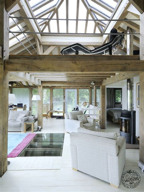 interior of homes pictures timber frame materials light and space carpenter oak ltd