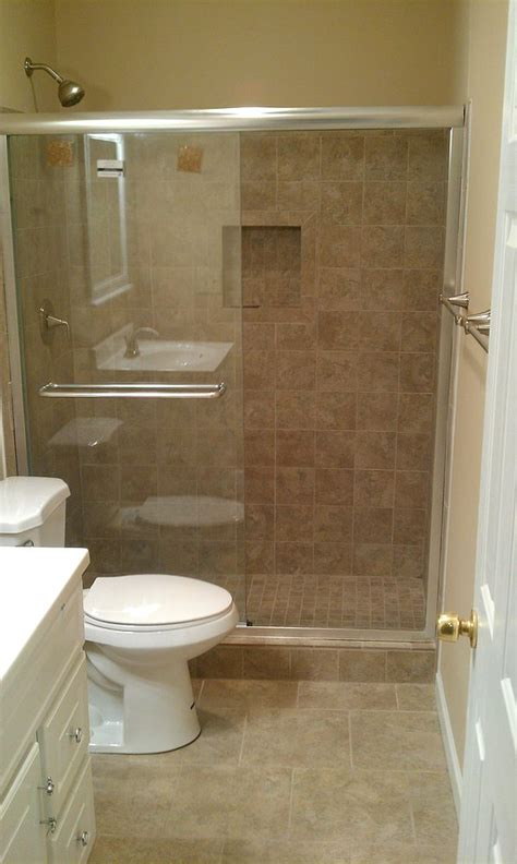 hometalk another bath remodel took out the bathtub and