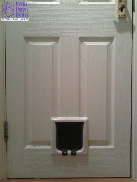 Catflap In Glass Door Types Of Cat Flap And Door