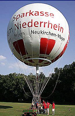 Gas Balon gasballon und goldw 228 sche sparkassen kurier die