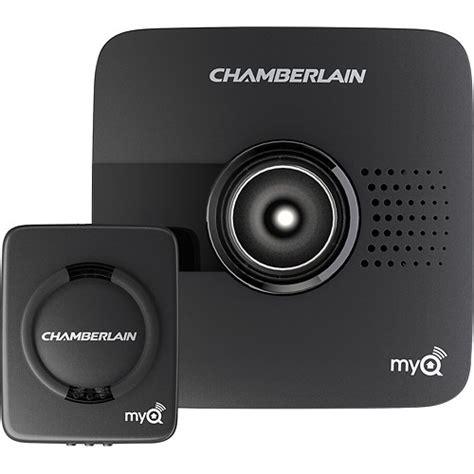 chamberlain myq garage door controller black myq g0201